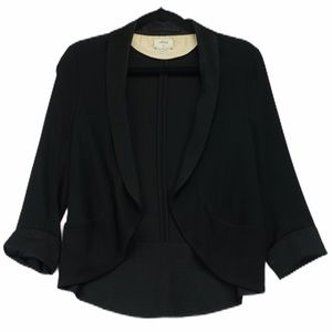 Wilfred black silk size 6 blazer